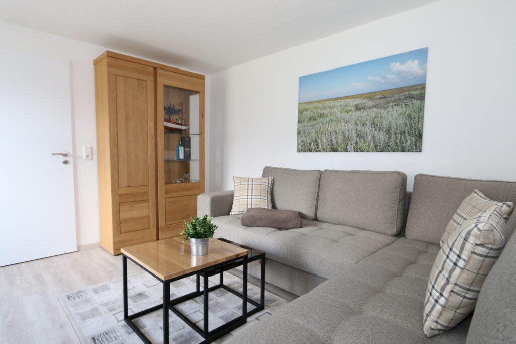 Ferienwohnung Norderland Wohnzimmer
